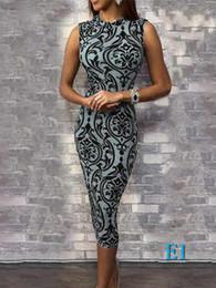 2019 peixe impressão vestidos mulheres Mulheres Bodycon Dresses New Arrival Moda Sexy Womens mangas Vestidos Imprimir Breve saias com elástico material Womens ClothingE1