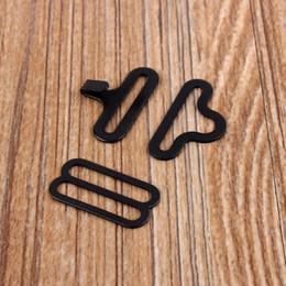 Ganci di legame di arco online-Freeshipping Nero 500 Set Bow Tie Clip Hardware Cravatta Clips Gancio di fissaggio Per Cravatta Cinghia placcata Collare Cravatta fibbia Miglior Prezzo