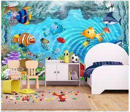 2019 schöne tapeten für wände Individuelle fototapeten für wände 3 d wandbilder wallpaper 3d cartoon kinderzimmer unterwasserwelt schöne kinderzimmer wandbild günstig schöne tapeten für wände