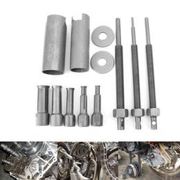 Extractor de osos online-9-23mm Cromado de acero vanadio Motocicleta Cojinete interior Kits de extractor Demolición Cojinete Engranaje extractor Herramientas removedor de herramientas