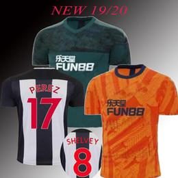 2019 Top Newcastles Fora camisas de futebol unidas 2020 casa SHELVEY LASCELLES RITCHIE BARRECA RONDON PEREZ ALMIRON camisas de Futebol de