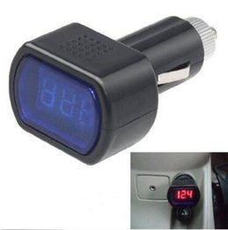 Paneles de honda online-El más nuevo monitor digital portátil voltímetro del coche probador LCD encendedor de cigarrillos medidor de panel de voltaje herramientas de diagnóstico CCA10351 400 unids