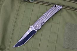 2020 facas dobráveis ROCKSTEAD-2 9CR lâmina de titânio Handle Folding bolso faca tático militar equipamento de camping ao ar livre equip ferramenta de defesa caça auto Survival facas dobráveis barato