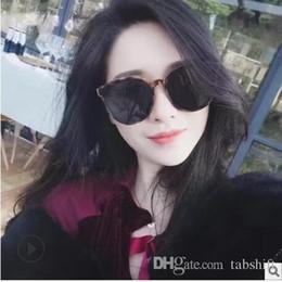 marca coreana degli occhiali da sole degli uomini Sconti occhiali da sole di design occhiali da sole di lusso per donna uomo occhiali da sole blu mare leggenda con la versione coreana di occhiali da sole di marca di moda V.