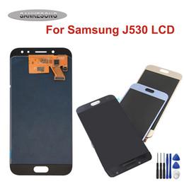 display lcd lc nexus schermo Sconti Assemblea del convertitore AMOLED / TFT a cristalli liquidi per la galassia J5 2017 J530 J530F SM-J530F J530FM Touch Screen Display LCD + strumenti