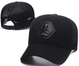 2019 marines sombreros Nuevo estilo de verano para hombre diseñador Cráneo sombreros gorras de béisbol ajustables dama de la moda de moda de verano camionero casquette mujeres Inglaterra gorra de ocio