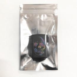 2019 custodia in plastica per i caricabatterie 9x16cm traslucido richiudibile Odore Proof Imballaggio Mylar Borsa di alluminio Zip serratura pacchetto alimentari snack regalo Vetrina Heat Seal laminazione