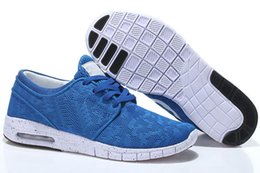 janoski sapatos baratos Desconto Nike SB air max supreme off white Vapormax nike airmax nmd JModa sb Stefan Janoski Tênis de Corrida Preto Cinza Athletic Walking Calçados Esportivos Tênis Sapatos Tamanho 36-45