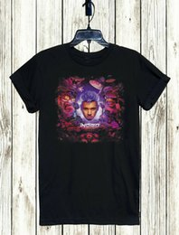 2019 chris brown corto CAMISETA XS-5XL UNISEX ENVÍO GRATIS CHRIS BROWN DRAKE NEW ALBUM Camiseta de manga corta Marca chris brown corto baratos