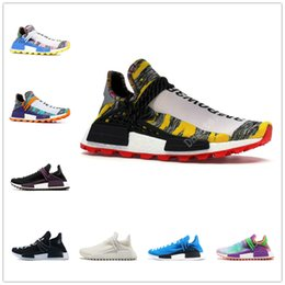 8bb1cfe720331 Human Race NMD Running Shoes With Box Pharrell Williams Core Hu trail Oreo  Nobel Black Yellow Nerd Designer Sneakers Men Women Sport Shoes