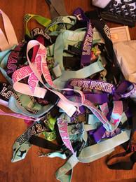 2018 Lanyards of Love Pink pour les clés, cartes d'identité, porte-badges, chaîne LOVE PINK lanyard necklace avec clip, chaîne pour collier de cigarette électronique ? partir de fabricateur