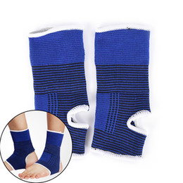 Canada 2 Pcs Cheville Pied Élastique De Compression Wrap Manches Bandage Brace Support Protection 18 cm * 8 cm # 305510 supplier elastic 8cm Offre