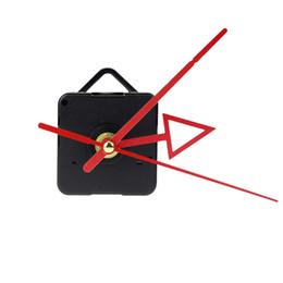 mãos do movimento do relógio de quartzo Desconto Mecanismo de movimento do relógio de quartzo seta vermelha mãos relógio com projeção DIY reparação substituição saat