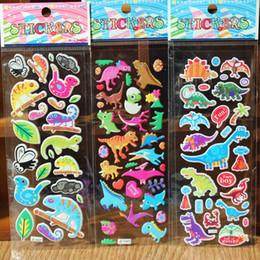 autocollants de gâteau Promotion Enfants Chambre Stickers Dessin Animé Alphabet Animaux Sticker Mural Voiture Véhicule Père Noël Gâteau Dinosaure Autocollant Décoration Murale GGA2021
