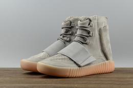 Zapatillas de deporte de tobillo para hombre online-2019 Nuevo SPLY 750 2018 Zapatos deportivos de alta carrera Botines grises caqui marrón negro Zapatillas de deporte para hombre para mujer US 5-11.5 con cajas