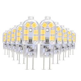 2019 маленькие светодиодные фонари 24v Ywxlight 10/комплект 2Вт 3Вт 4Вт малое G4 Сид переменного тока DC 12В 24В SMD 2835 свет лампы прожектор светильник Галоида шарика Q190601 дешево маленькие светодиодные фонари 24v