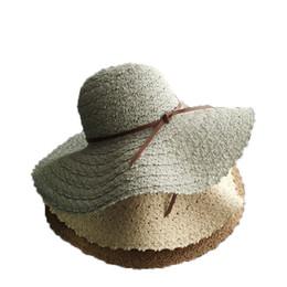 2f4a24b7b5bc Chinese Women's Summer Hats Fashion Sun Hat Girls Straw Beach Cap  Hollow