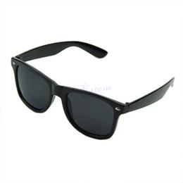 occhiali neri uomini neri Sconti Vintage Square Frame Unisex Uomo Donna Clear Lens Nerd Geek Occhiali Eyewear Nero