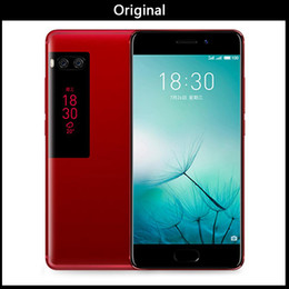 android mtk tv Promotion En gros Original Meizu Pro 7 Plus 6GB 64 / 128GB 4G LTE MTK Hélio X30 Core 5.7