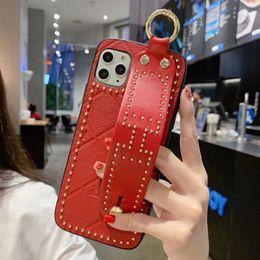 2019 telefoni cellulari colorati Casse del telefono Designer lusso per l'iPhone 11 Pro 7 8 più XS MAX XR PU pelle con supporto supporto del telefono moda coperchio posteriore
