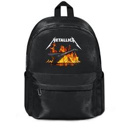 cordas da guitarra de james hetfield Desconto Metallica James Hetfield Guitarra Novidade Moda esportes Lã, Ombro mochila, design pop personalizado pacote de corda ajustável, suita