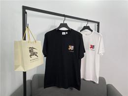2020 pferdhemden für frauen 20FW Luxus BBR Pferd 1856 Druck T-Shirt Baumwolle T-Shirt Männer Frauen Liebhaber Street Sweatshirt Outdoor-T-Shirts 1.6 günstig pferdhemden für frauen