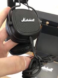 Marshall Major III Graves Profundos DJ Hifi Fones De Ouvido Major 3 Profissional Fones De Ouvido Esportes Fone De Ouvido Fone De Ouvido Estúdio Hi-Fi Fones De Ouvido de Fornecedores de venda por atacado de iphone de maçã