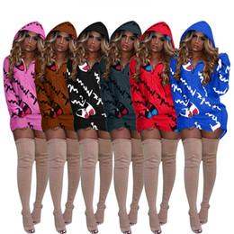 spider man invierno abrigo niños Rebajas Champion Print Brand Coat Mujeres Diseñador Hoodies Zipper Pullover Vestido suelto Otoño Casual Manga larga Top Invierno Sudaderas Ropa C8905