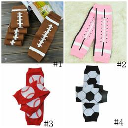 Baloncesto caliente online-Béisbol calcetines del bebé Fútbol Baloncesto Fútbol calentadores de la pierna infantil Legging Medias calentador de la pierna de los niños calcetines largos GGA2692
