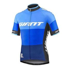 2019 riesige fahrradhemden GIANT Pro Team Sommer Radtrikots Kurzarm Trikot Ropa Ciclismo Atmungsaktive Herren Outdoor MTB Bike Bekleidung Quick-Dry Fahrrad Shirts rabatt riesige fahrradhemden