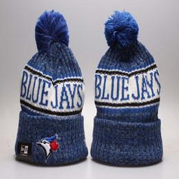 Deutschland Baseball Blue Jays Wintermützen Mützen für Männer Frauen Toronto Strickmütze Gorro Bonnets Bowler Hat Marke Gestrickte Hip Hop Hüte Versorgung