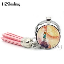 Pequeñas cadenas para hombres online-2019 Fashion The Little Keychain Bohemian Jewelry Silver Tassel Keyring Little Key Chain regalos para mujeres hombres TAK - 08