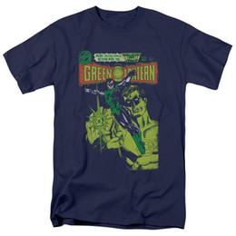 Green Lantern Vintage Cover T-shirt Canotte per Uomo Donna o Bambino Divertente spedizione gratuita Unisex Casual da