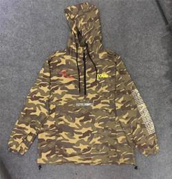 2019 donne camicia da bagno camouflage Camouflage Travis Scott AstroWorld Giacche Completo Uomo Donna Cappotti Giacche Streetwear Camo donne camicia da bagno camouflage economici
