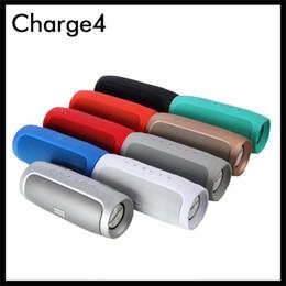 2019 pequeños altavoces bluetooth para iphone Lo nuevo altavoz inalámbrico Bluetooth portátil Charge4 Subwoofer Reproductor de audio Soporta TF tarjeta de 6 colores Carga 4 de altavoces estéreo
