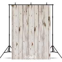 2019 bordo di sfondo Pure White Board Sfondo fotografico per bambini Baby Shower New Born Ritratto Personalizzato Vinyl Backdrop Photocall Shoot bordo di sfondo economici