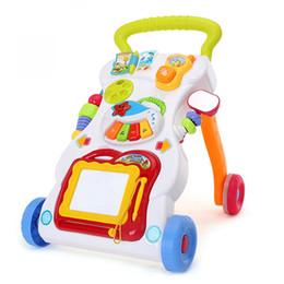 Velho instrumento on-line-Carrinho de crianças Multifuncional Walker 0-1 Anos de Idade Do Bebê Brinquedo Prevenção O-Pernas Criança Instrumento Musical Wordpad