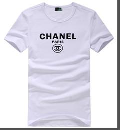 camisetas estados unidos Rebajas 2019, la última camiseta de verano popular en Europa y Estados Unidos, moda casual, monograma, patrón de impresión casual, manga corta casual