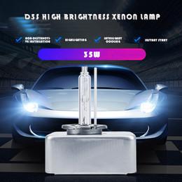 Lâmpadas de substituição de xenônio on-line-2PCS 55W D5S Xenon padrão escondeu xenon kit bulbo de lâmpada alemão qualidade high-tech New farol troca da lâmpada