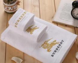 casaco verde dos miúdos Desconto Best-seller toalhas de banho de designer da marca bordado toalha quadrado toalha de praia e toalha de banho de 3 peças 1 set tecido de algodão macio e confortável