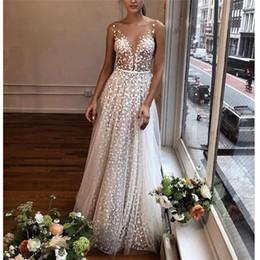 vestido corto de cuero sexy más tamaño Rebajas Vestido de verano para mujer Sling Cross Boda con cuello en v Elegante fiesta de noche Vestido de encaje hueco delgado Moda Elegante Vestido femenino Vestido Y19073001