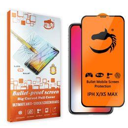 Ceramica morbida a copertura totale per iPhone X XS MAX XR 9H Pellicola salvaschermo per iPhone 8 7 6 Plus Vetro non temperato Con confezione da