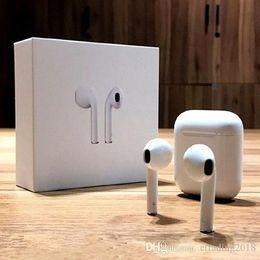 marcas de vendas de plástico Rebajas Mini Auriculares de Wireless Auriculares Bluetooth Headphons con carga caja para Smartphone