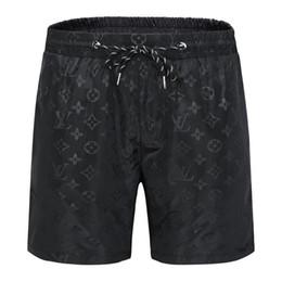 2019 troncos de banho masculinos quentes marca de luxo verão de manga curta shorts da praia moda calções desenhador dos homens maiô calções de banho das Bermudas de surf homens de vida # 78