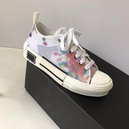 B23 der Frauen Männer Sandale Designer Schuhe Luxus Slide Summer Fashion Breitflach Slippery Sandalen Slipper Flip Flop Größe 35 40 t07