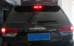 5 pcs Luz de Freio Do Carro Caso Adesivos Para Jeep Grand Cherokee / Bússola Luz de Freio Adesivo Car Styling Auto Acessórios de Fornecedores de papel de adesivos de carro preto