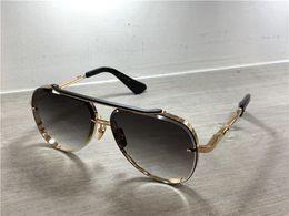 Lunettes de soleil pilote doré / noir Lunettes de soleil à lunettes de soleil de luxe pour hommes, lunettes de soleil de luxe pour hommes ? partir de fabricateur