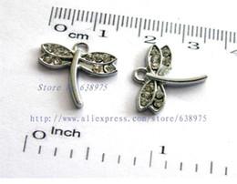 Großhandelspreis 10pcs Libellenformfall-Charme-Halskette Pendantbzusatz von Fabrikanten