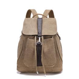 Джинсовые сумки онлайн-2019 новый мальчик школьный рюкзак старинные мужские сумки на шнуровке холст дорожные сумки повседневная джинсовая рюкзак Zl55