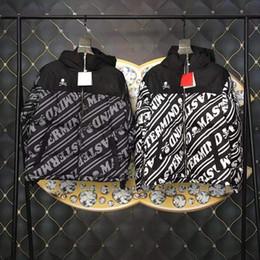 Argentina Capa de la chaqueta acolchada del algodón del bordado del logotipo de NUPTSE de la cooperación de Matermind Japón Hombres para el invierno supplier winter coats japan Suministro